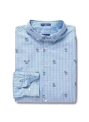 Çizgili Desenli Uzun Kollu Gömlek-Gant